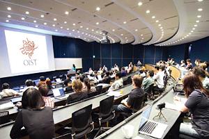 沖縄科学技術大学院大学の講堂